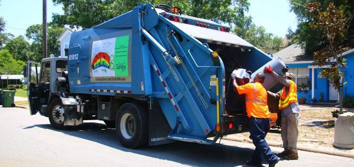 garbage pickup service