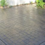 modern stamped concrete patterns
